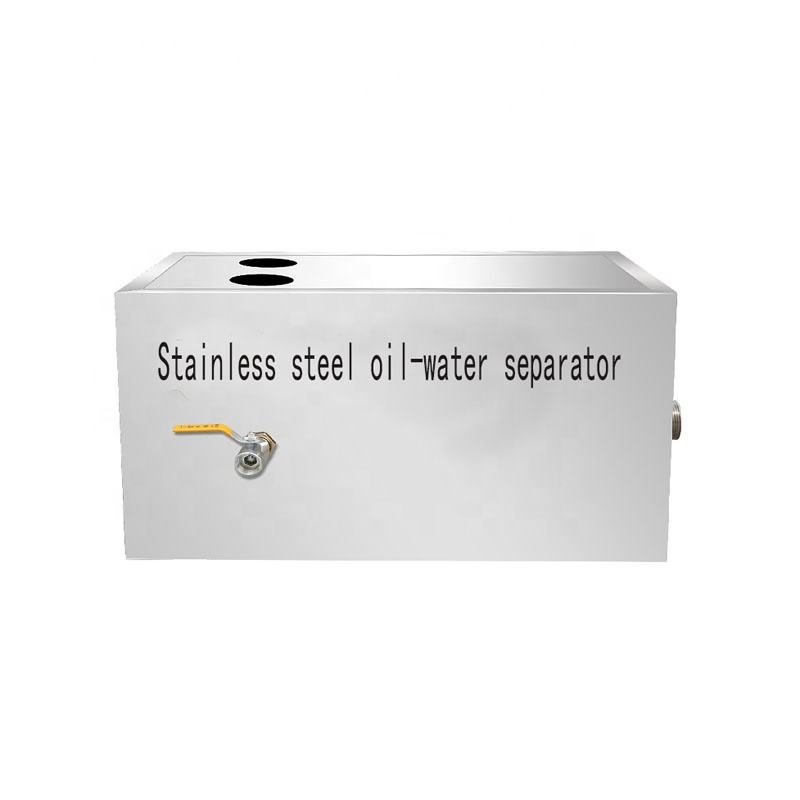Stainless Steel Kitchen Oil Water Separator Treatment Factory/Commercial Kitchen Oil Grease Trap Interceptor/ Waste water treatm