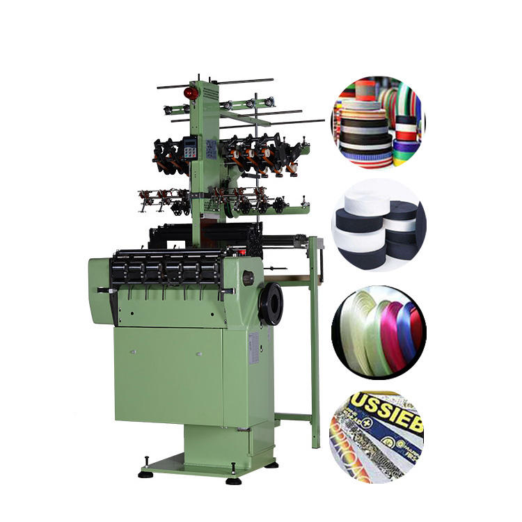 Narrow fabric needle loom,adjustable elastic or non-elastic fabric wristband making machine