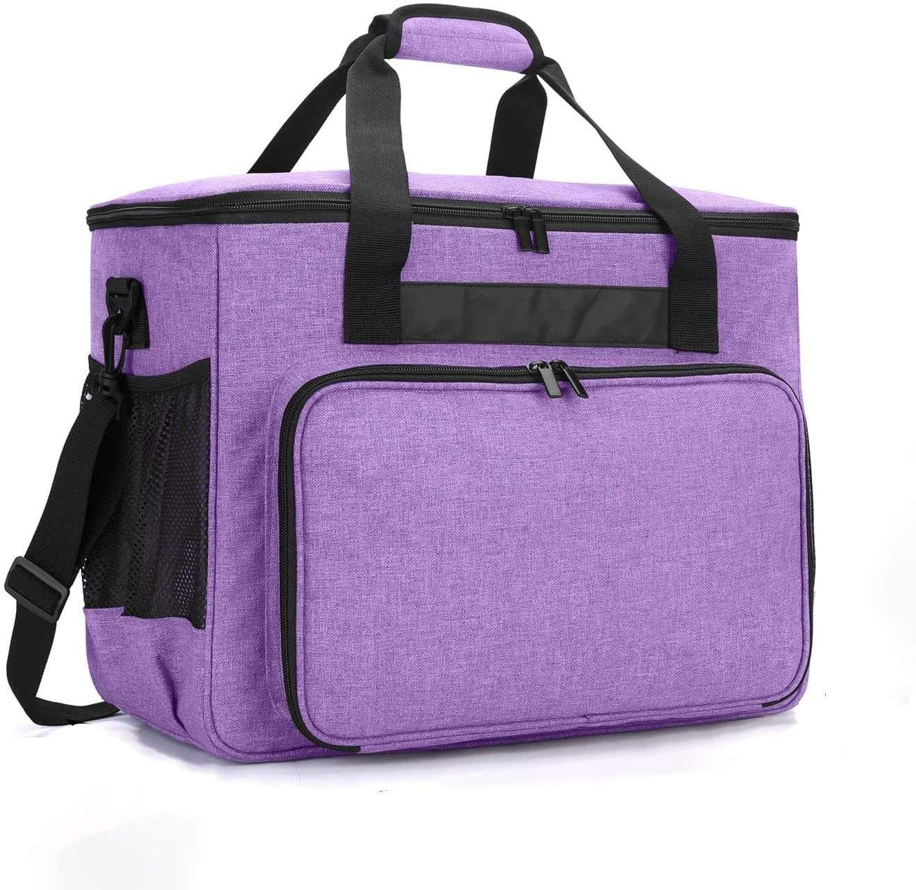 Multifunction Sewing Machine Carrying Case Universal Travel Tote Bag with Shoulder Strap Sewing Machine Storage Handbag
