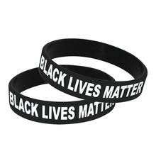 Wholesale Cheap Custom Silicone Wristband I Cant Breathe Black Lives Matter Bracelet