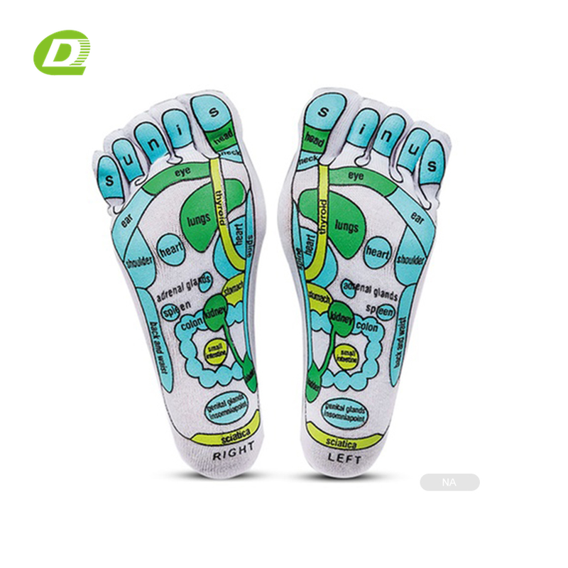 DQ- M048 socks reflexology foot massage socks acupressure socks