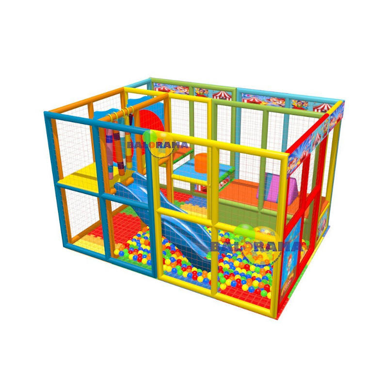 New model optional digital printed softplay indoor playground 4x3x2.5 meter