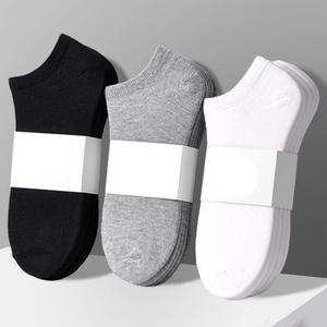 Wholesale hot sale men socks ankle cotton sock men socks