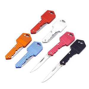Fast shipping sharp MINI outdoor camping folding pocket key knife
