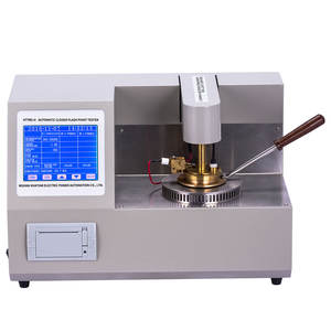 HTYBS-H 320x240 LCD Display Closed Cup Flash Point Tester High Precision Flash Point Testing Equipment