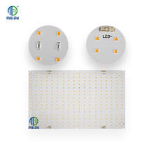 Meijiu Amazon Hot Selling Electronic Printed Led Pcb Quantum Grow Light Smd QB288 Board, New 2020 Customized Led 288 Pcb Board