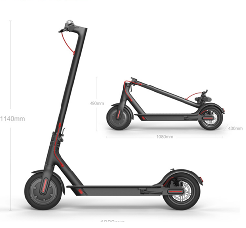 2020 Hot Sale Best Same As Original M365 Electric Scooter