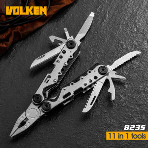 Multitool Mes, 15 In 1 Draagbare Pocket Multifunctionele Multi Tool Met Tang Mes Voor Outdoor Survival Camping