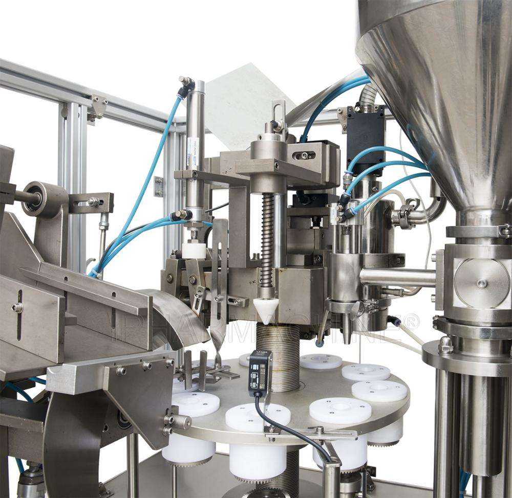 NF-60A Automatic Chocolate Soft Glue Tube Filling And Sealing Machine