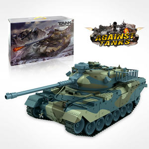 Vendita calda 1:18 full metal tank rc