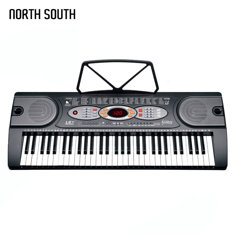 LCD Screen Display Keyboard Piano Electronic Organ With USB Input/Output