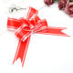 Wedding Gift Hot Sale Wedding Gift Decorative Double Sided Silver Edged Pp Ribbon Wedding Christmas Party Balloon Ribbon Bow Decoration