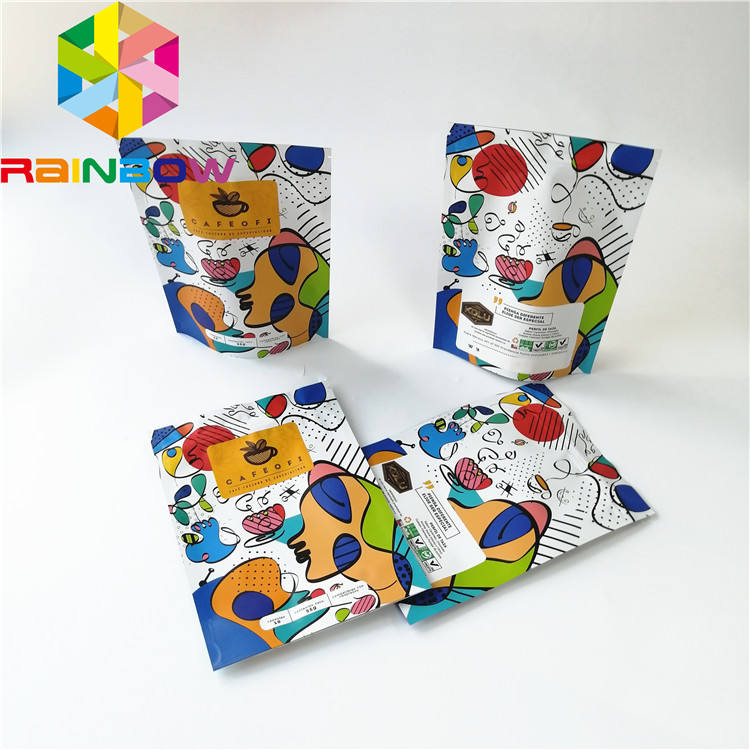 Mylar Bag Custom Printed Recycle Mylar Plastic Bags Digital Printing Pet Dog Treat Stand Up Foil Moisture Proof Pouch