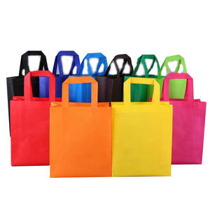 Hot Sale Custom Eco PP Non Woven Durable Handled Laminated Shopping bag