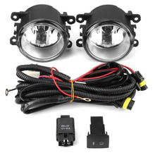 For SUBARU WRX 2012-2015 fog lamps black fog lights