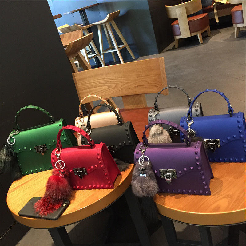 Hot sale women bags ladys crossbody hand bags jelly purses ladies shoulder bags