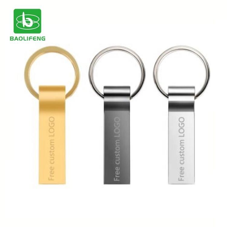 Logo personnalisé en métal mini clé usb 2 go 4gb 8gb 16gb gb clé usb avec usine prix