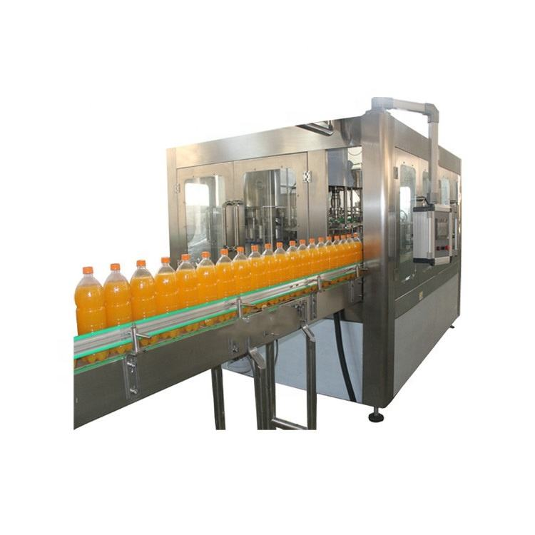Fruit juice hot filling machine equipment factory direct price