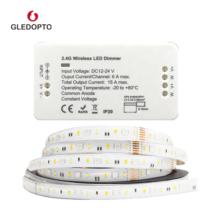 2019 TERBAIK Kualitas Strip LED Controller/<span class=keywords><strong>Dimmer</strong></span> untuk Tunggal Warna LED Dimmable 12-24V