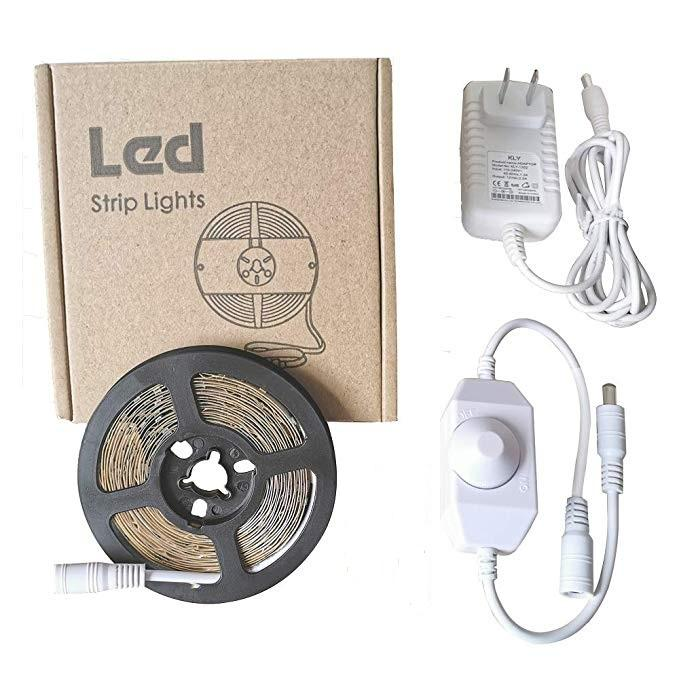 China high quality led strip set 12 Volt Led Strip Light +44 Key Remote + Power Supply + ip65 waterproof led strip