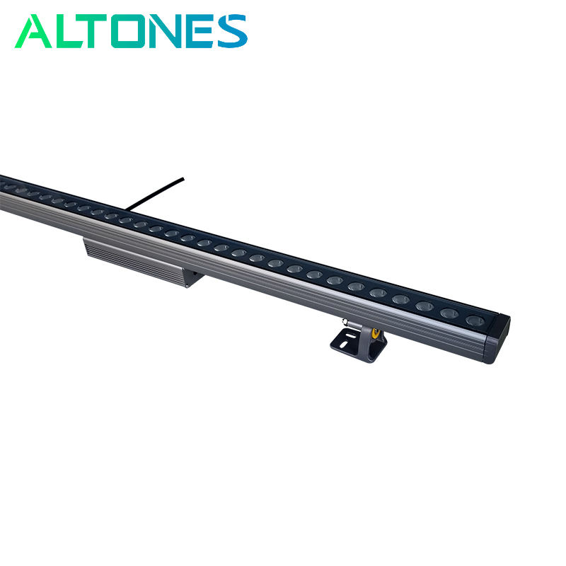 ALTONES 18w 36w RGBWA Pixel Control Aluminum Outdoor DMX LED Wall Washer Light Bar for Architectural Lighting