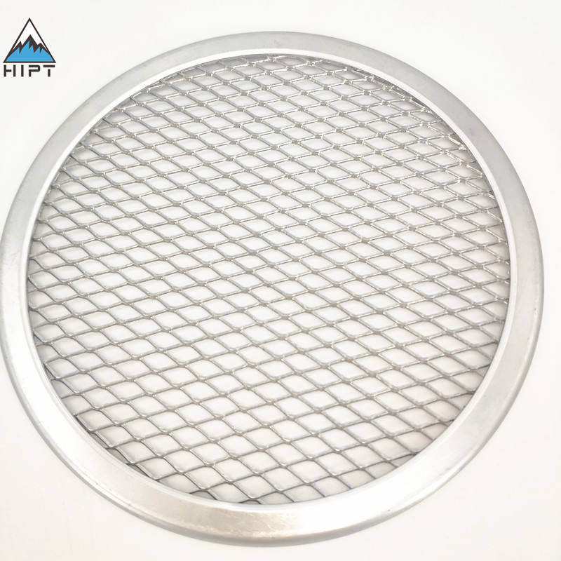 food grade seamless 6 inch to 22 inch aluminum pizza screen