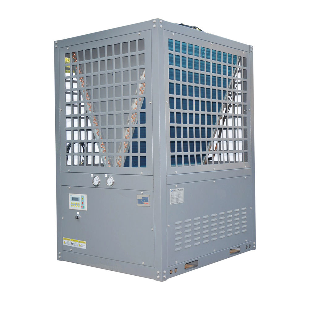 40-60HP air cooled industrial refrigeration glycol water cooled screw chiller