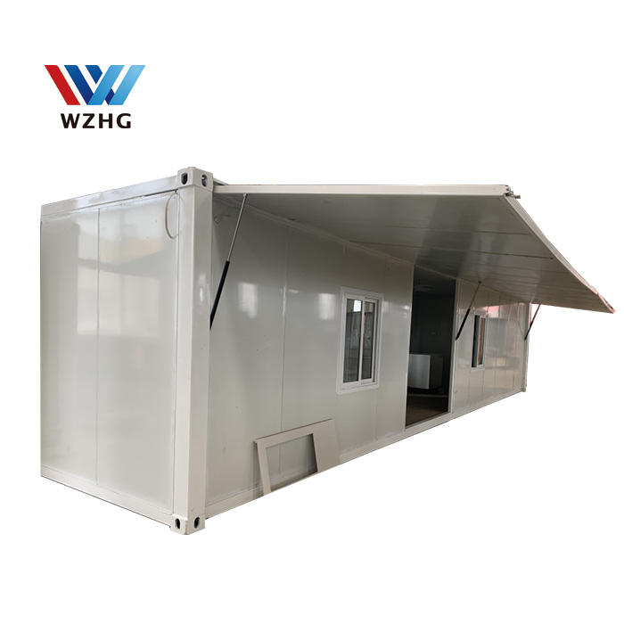 best selling porta cabin container hospital school classroom & dormitory labor camp Model House at construction offsite