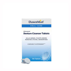 Dukal DEN6290 Dawn Mist Denture Cleanser Tablet, 90 ct. (90 Boxes of 24) (Pack of 2160)