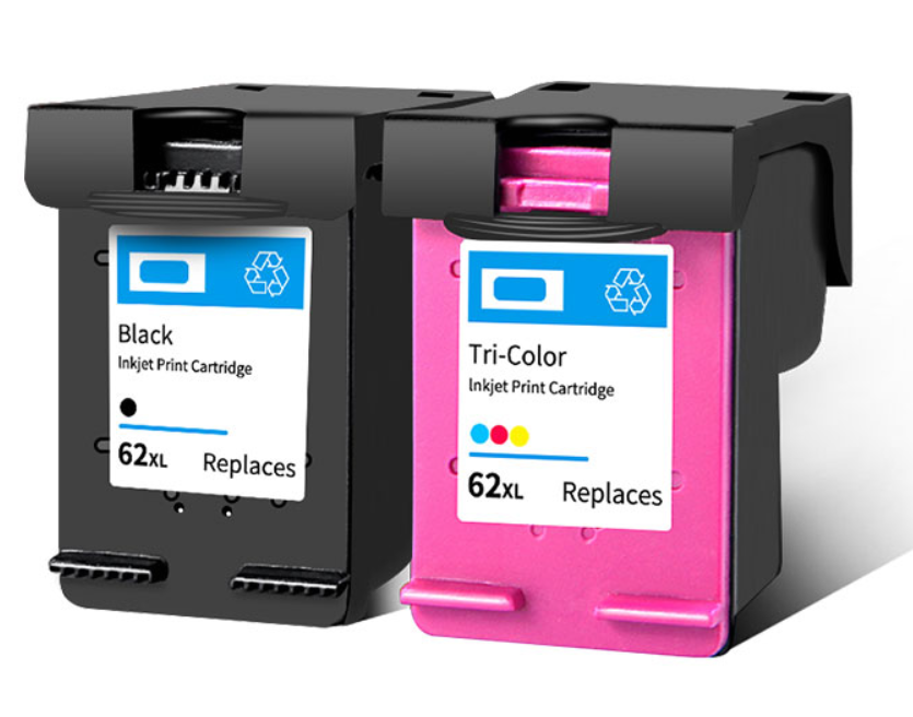 New! Remanufactured ink cartridge for HP62 62XL ink cartridge for new hp ink cartridge