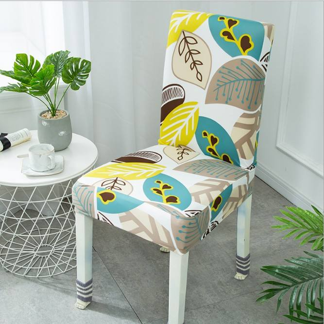 Wholesale latest style polyester fabric digital printing chair cover