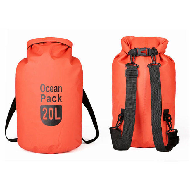 Waterproof Dry Bag Backpack All Purpose Dry Sack Dry Compression Sack For Travel Swimming Boating Kayaking Camping And Beach
