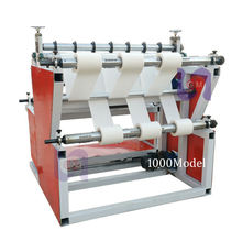 1200Model Paper Roll Meltblown Slitting Nonwoven Fabric Cutting Machine