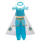 New Arrival Kids Aladdin Jasmine Dance Performance Girl Cosplay Costume Party Dresses BX1638