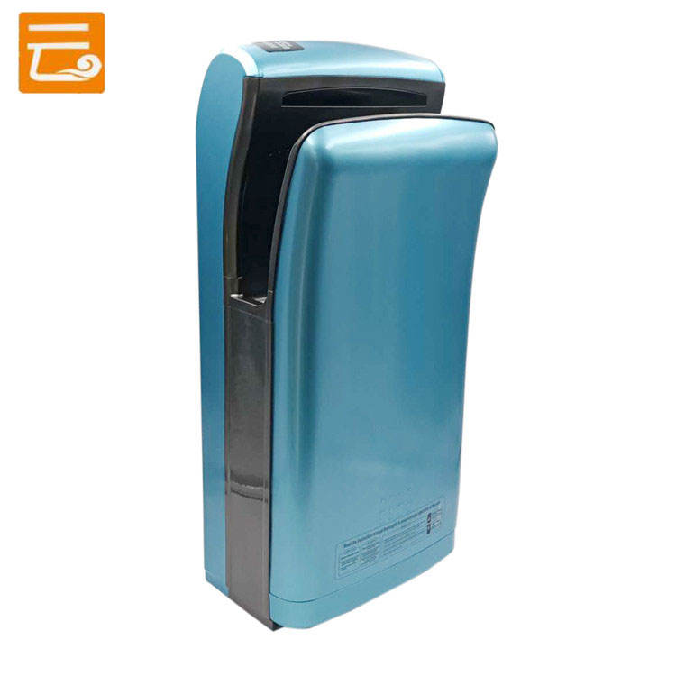 Color customizable high speed portable touchless automatic infrared sensor electric jet air blade hand dryer