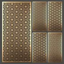 Wholesale Factory Price Custom Partition Wall Panel Laser Cut Metal Screen