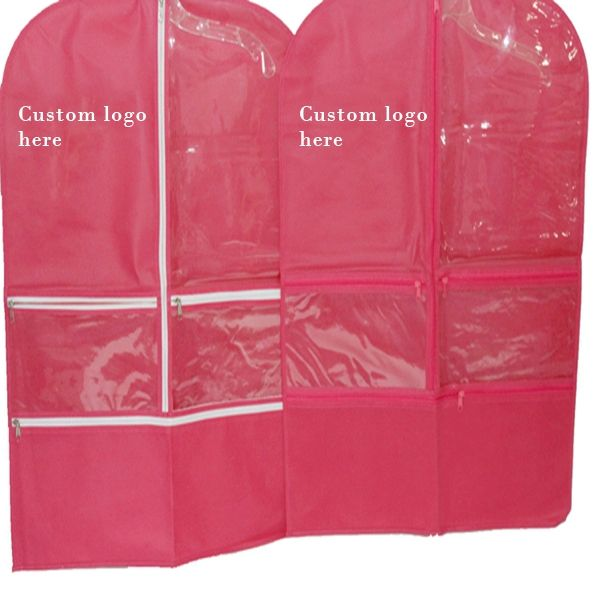 best selling non woven and PEVA material dance garment bags