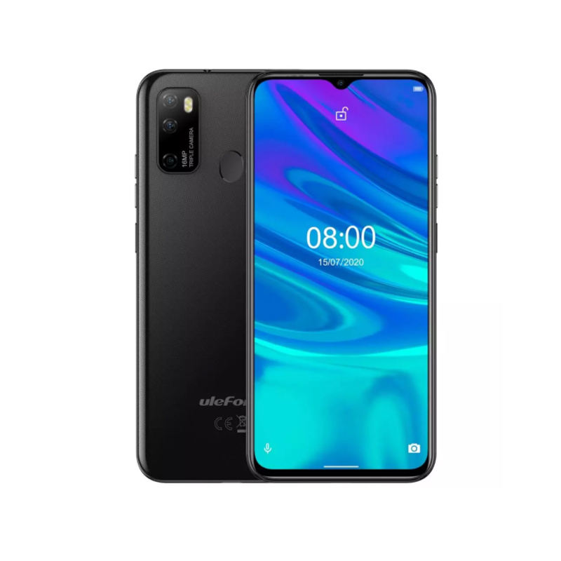 "Ulefone Note 9P 4G Celular Android 10 Smartphone 6.52 ""Drop-kerbe Screen Quad Core MKT6762V/<span class=keywords><strong>WD</strong></span> 4GB + 64GB Face Unlocked Cellphones"
