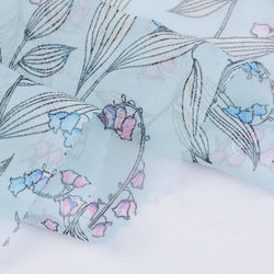 Best selling plain 100% polyester chiffon digital printed fabric for lady dress