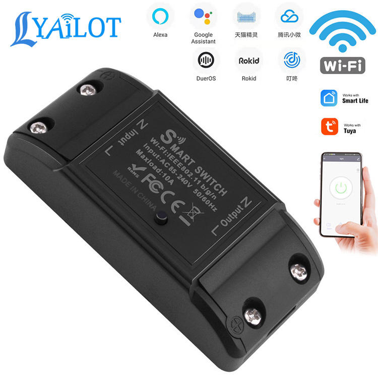Basic Smart Home Automation DIY Intelligent Wifi Wireless Remote Control Universal Relay Module Light Power Mini Switch