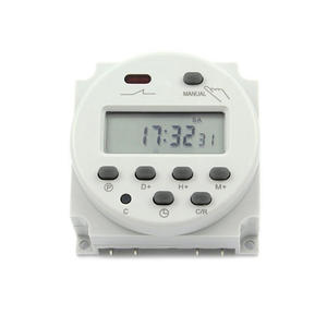 NBL101A Mini Time Switch 220 V 110 V 24 V 12 V dengan 4 Kabel LCD Digital Harian Mingguan Programmable digital Timer