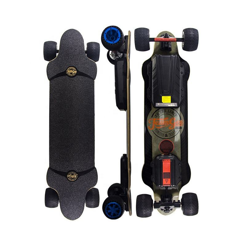TeamGee H20T newest model city offroad ultra thin longboard electric skateboard cheap scooter surfboard electric wheel motor