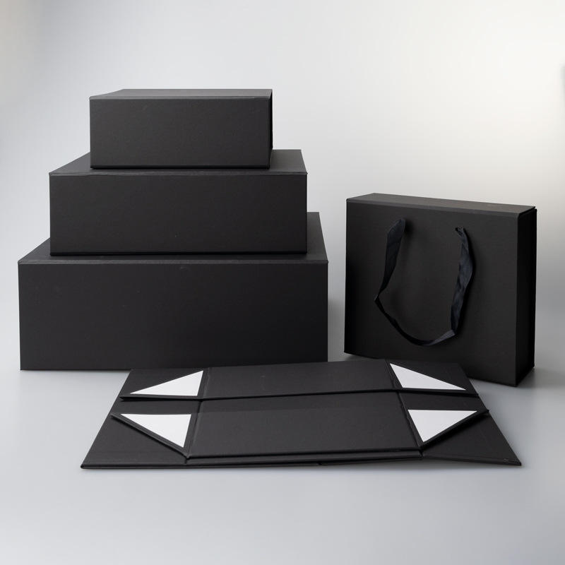 Nicro Custom Logo Folding Paper Flat Packing Luxury Magnetic Gift Box Wholesale