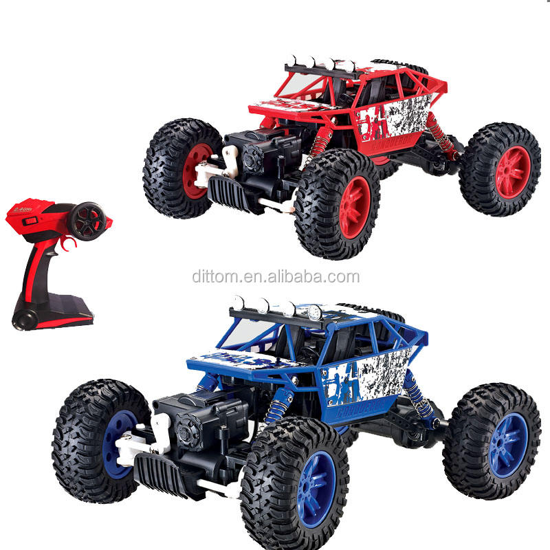 4WD Rallye Voiture 2.4G <span class=keywords><strong>Rc</strong></span> Cross Country Rock Crawler camion 1/18 échelle 4x4