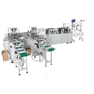Fully Automatic Medical face mask making machine Disposable Face Mask making machine