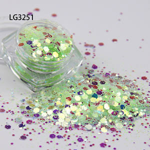price cheap bulk uv shift loose sequins multicolor glitter