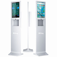 Advertizing Kiosk Advertising Display Digital Signage With Hand Sanitizer