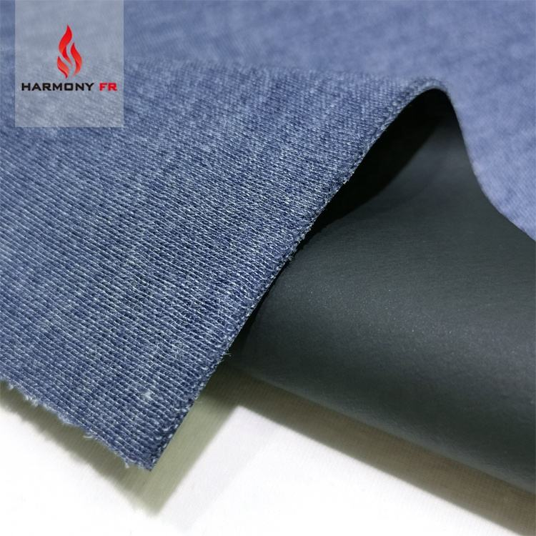 PU Coated FR Viscose Aramid Blended Fire Resistant Waterproof Fabric