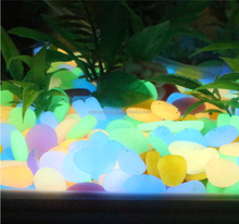 Glowing Aquarium Decoration Natural Colorful Gravel Rocks Pebble Stone
