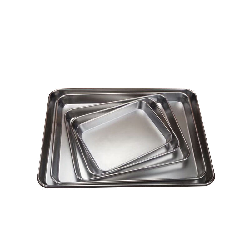 FREE SAMPLE ss304 18-8 Stainless Steel BBQ Serving Tray for Kitchen homing using